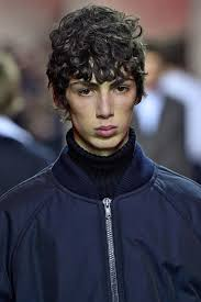haircut for men with curly hair fringe haircuts for men how to get the fw u002717 runway look