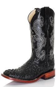 ferrini s boots size 11 ferrini mens 12 caiman print square toe croc cowboy boots black