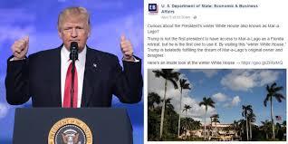 Inside Mar A Lago State Department Websites Promote Donald Trump U0027s Mar A Lago Resort