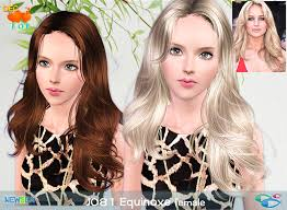 sims 3 hair custom content hair by newsea custom content caboodle page 18