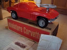 barbie corvette vintage 1966 corvette minature corvette promo toy car collectors weekly
