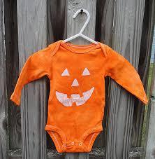Baby Halloween Costumes Pumpkin Halloween Baby Bodysuit Baby Halloween Costume Jack Lantern