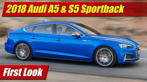 lexus gs vs audi a5 first look 2018 audi a5 u0026 s5 sportback testdriven tv