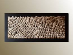 3d large wood wall organic texture wall sculpture