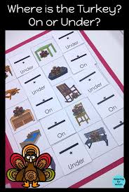 thanksgiving file folder activities for special education basic