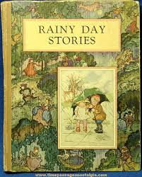 mcloughlin brothers rainy day childrens story book once upon