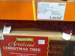 costco artificial christmas trees christmas lights decoration
