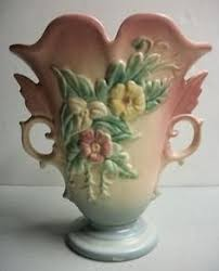 Hull Pottery Vase More Than Pastels Hull Pottery Antique Trader Glassware