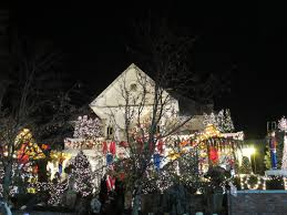 dyker heights christmas lights in brooklyn new york youtube