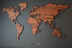 World Map Pins by World Map Palisander Mapawall Com