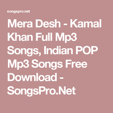download mp3 a thousand years cakra khan mera desh kamal khan full mp3 songs indian pop mp3 songs free