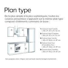 plan implantation cuisine cuisine plan type plan de travail cuisine americaine bar plan