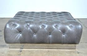oversized storage bench coaster company brown faux leather