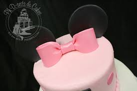 cake walk minnie mouse 1st birthday cake