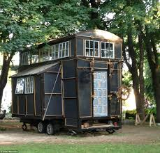 couple leave their everyday lives to live in a 10 000 compact