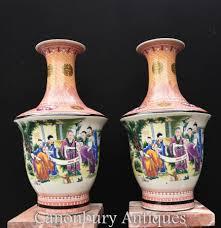 Japanese Kutani Vases Japanese Porcelain Imari Satsuma Famille Jaune Canonbury