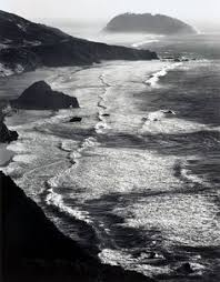 ansel adams surf and rock monterrey county coast california