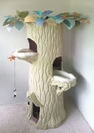 Cat Treehouse 6 Feet Tall I Make These Spiral Staircase Cat Houses And Ship