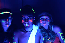 halloween party entertainment ideas recipe for a black light party neon lights party glow party and