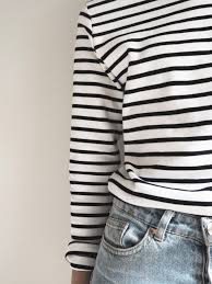 boho luxe black u0026 cream my favourite breton striped top breton stripes stripes fashion