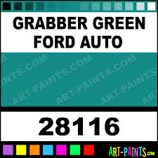grabber green ford auto auto lacquer spray paints 28116