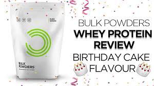 bulk powders whey protein review