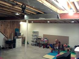 after recessed lighting best basement fixtures led parking design