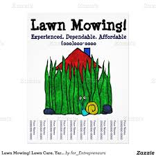 lawn care business customized flyer lawn care pinterest lawn