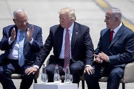 donald trump israel trump tells israel its arab neighbors agree on iran threat the