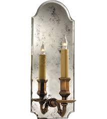 Mirrored Wall Sconce Visual Comfort Chd1172am Ab E F Chapman Kensington 1 Light 6
