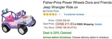 black friday power wheels deals amazon canada black friday deals save 25 on fisher price power