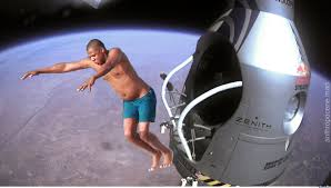 Jay Z Diving Memes - jay z diving red bull stratos edition by anthropoceneman meme center