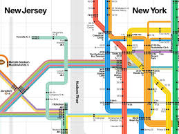 Manhatten Subway Map by Super Bowl Subway Map Business Insider