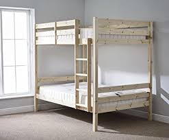 DOUBLE Bunkbed Ft  TWIN Bunk Bed INCLUDES X QUILTED Sprung - Double bunk beds
