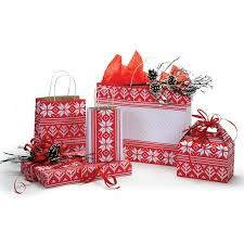 christmas boxes alpine sweater christmas boxes bags boxandwrap