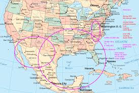 North America On Map by Florida On Map Of America Deboomfotografie