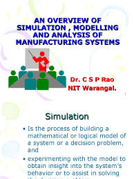 simulation and modelling simulation conceptual model