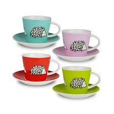 cool espresso cups buy scion spike espresso cups and saucers set of 4 amara