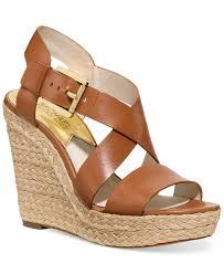 macys michael kors boots black friday sale michael michael kors giovanna platform wedge sandals all women u0027s