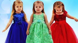 learn colors with dresses finger family song nursery rhymes for