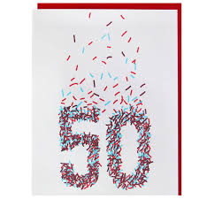 50th birthday cards 50th birthday card happy birthday cards smudge ink smudgeink