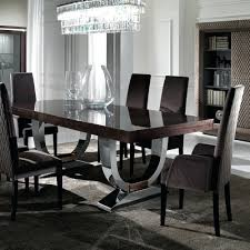 modern round dining table set for 6 modern round dining table for