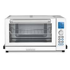 What Is The Best Toaster Oven To Purchase Cuisinart Deluxe White Convection Toaster Oven Broiler Tob 135wn