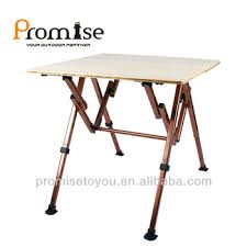 foldable table adjustable height foldable bamboo cer table height adjustable bamboo cing table
