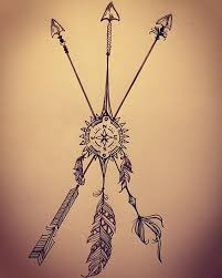 Indian Art Tattoo Designs Compass Arrows U2026 Pinteres U2026