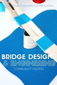 building bridges engineering activity pre k pages