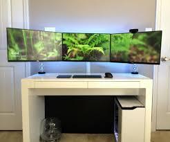best corner desk for 3 monitors danielbates co page 22 computer desk 3 monitors ikea small