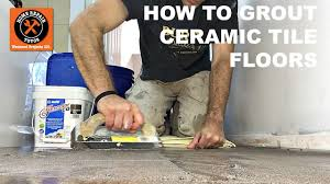 how to grout ceramic tile bathroom floors with mapei flexcolor cq