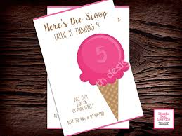personalized scoop birthday personalized here s the scoop birthday