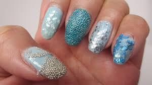 fun with nail art caviar beads and flakes makeup by renren
